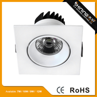 Long lifespan warranty 2 years 7w citizen led cob downlight