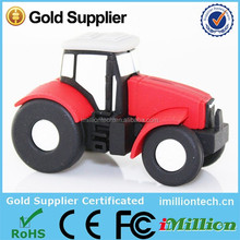 New Mould 4GB Tractor shape USB Drive, Tractor shape USB 4GB, Tractor Truck shape USB 4GB