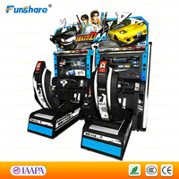 Funshare 2015 Initial D racing car arcade game machine/coin operated video game machine