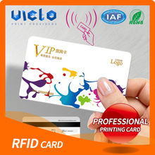factory hot sales print iso7810 dual frequency rfid card Best price high quality