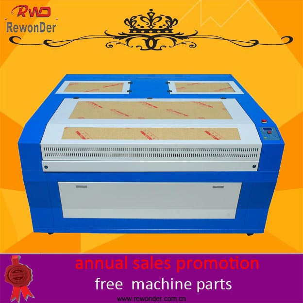 Beijing Manufacturer! RWD-1616 CO2 laser engraving cutting machine for MDF acrylic crystal wood