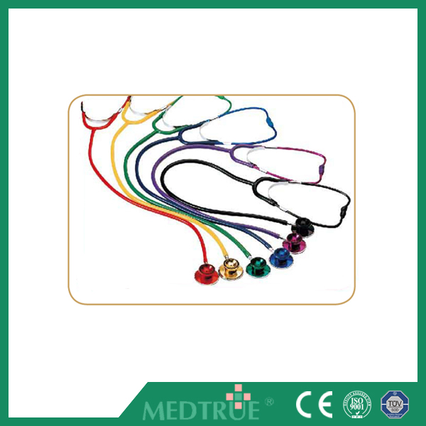 CE/ISO Passed Medical Stethoscope Colored Dual Head For Adult (MT01015002)