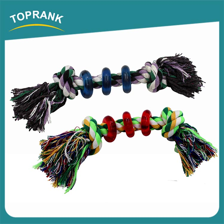 Soft Multi Colored Cotton Rope,Twist Cotton Rope,Organic Pet dog Toy Wholesale Eco-friend Cotton dog Rope Toys