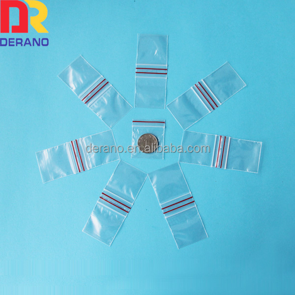 apple mini ldpe ziplock baggies tiny bag