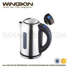 Custom shape ss 201 304 logo glass water jug / wide mouth cooler jug with decal /good quality customized decal jug