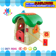 Kids playhouse plastic cheap indoor children playhouse for kids