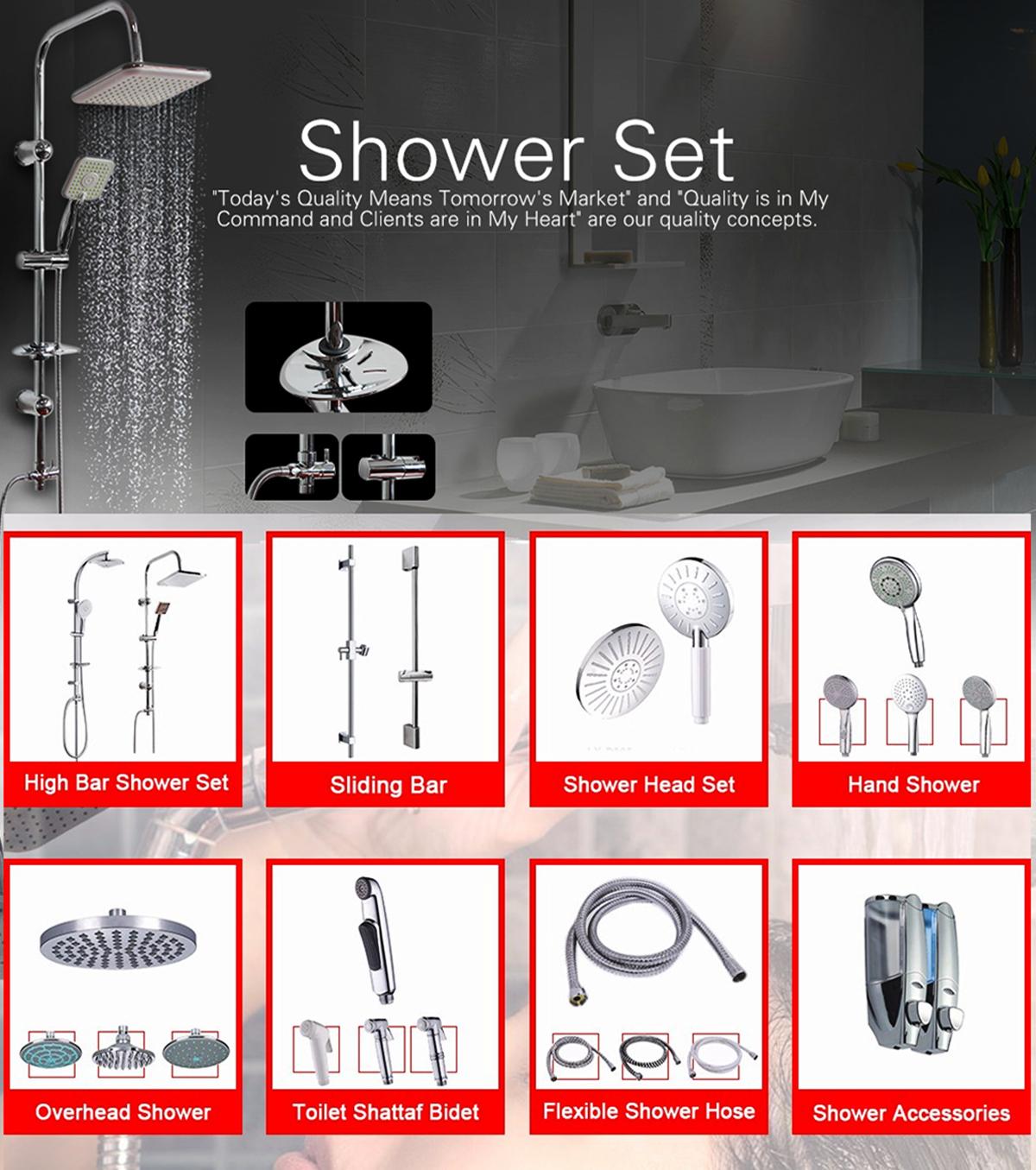 Cixi City Lixiang Sanitary Ware Co., Ltd. - shower head, hand shower