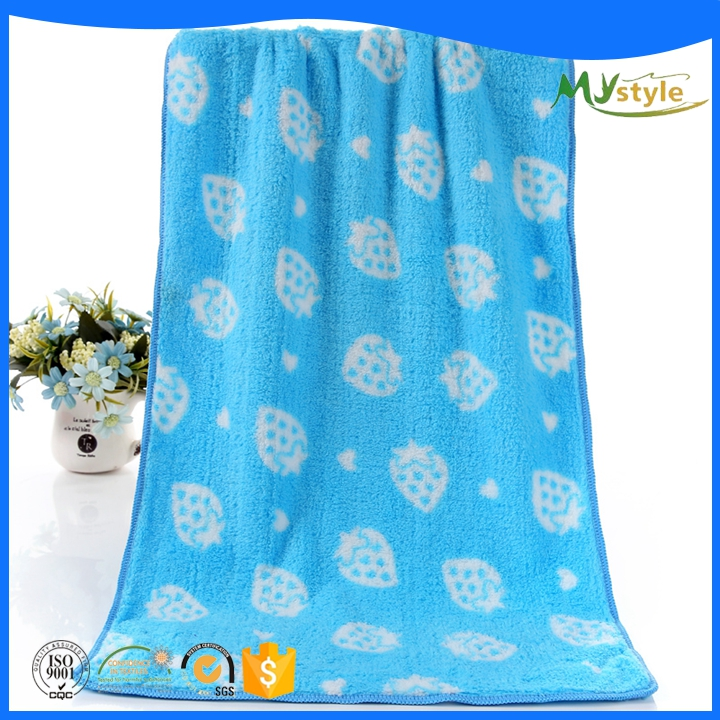 2016 New design high quality cheap microfiber towel yoga with stock