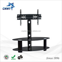 television modern home furniture table tv plasma lcd tv 32 inch led glass tv stand