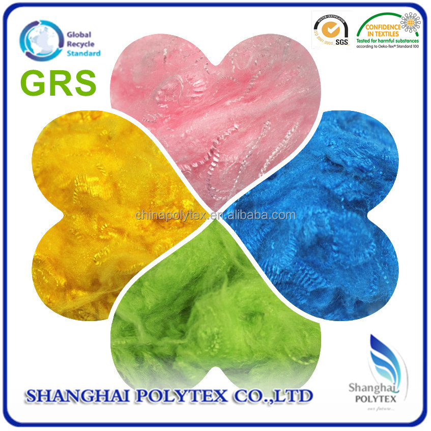 POLYESTER STAPLE FIBER (PSF) with GRS CERTIFIED