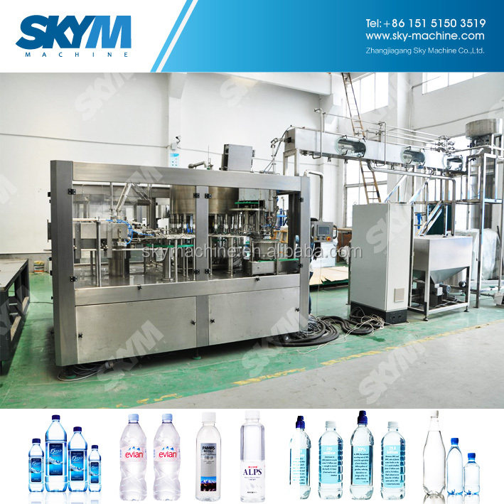 Machinery And Equipment For Mineral Water Plant
