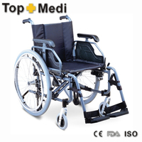 Rehabilitation Therapy Supplies certificated high quality hot sale aluminum wheelchair and wheelchair parts