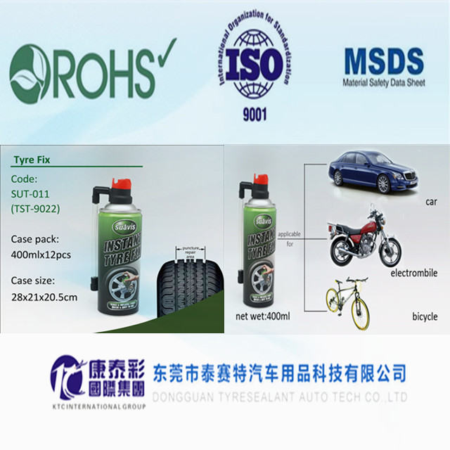 Non-flammable type Liquid Tyre Sealant for Tubeless