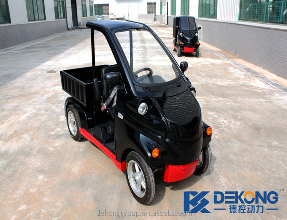 New condition plate type one person electric mini cargo car