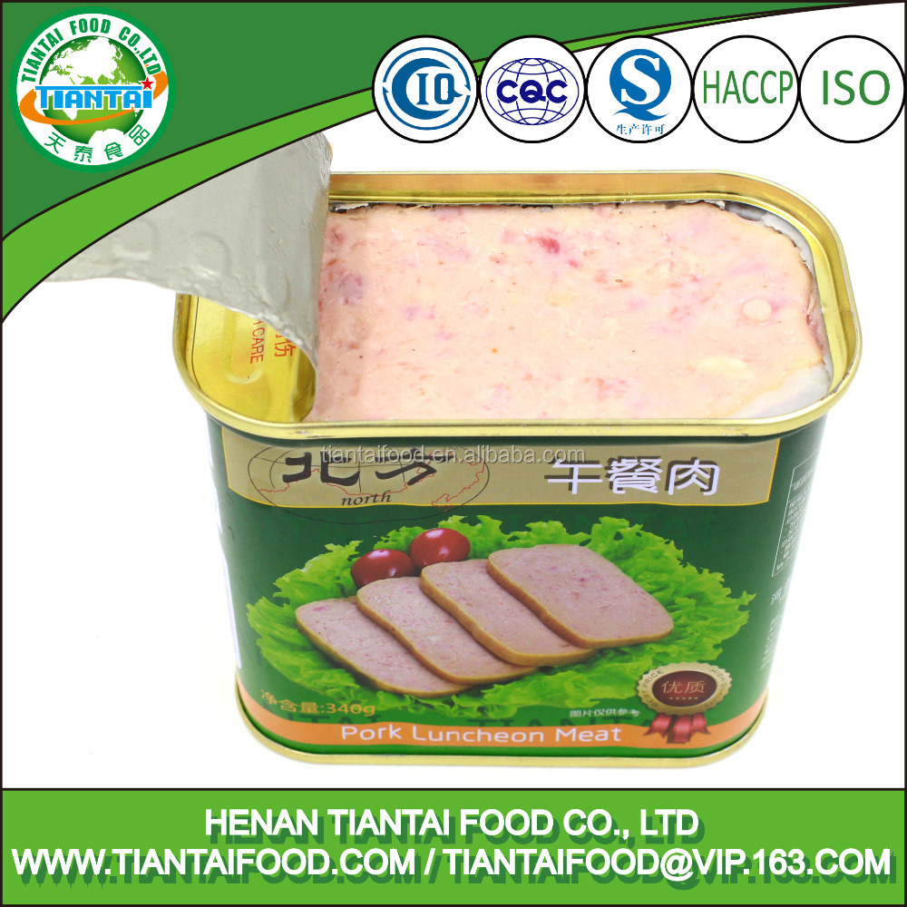 dried tripe canned food maling pork luncheon meat