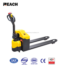 High quality 2t semi electric jack pallet truck forklift