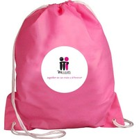 Alibaba China Supplier Taobao Price Pink Color waterproof drawstring bag