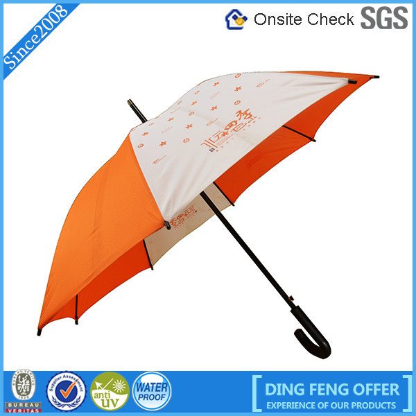 23'' umbrella orange beach umbrella made in usa