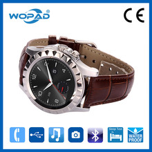 Leather Smart Watch Waterproof Pocket Watch Cell Phone for Lady