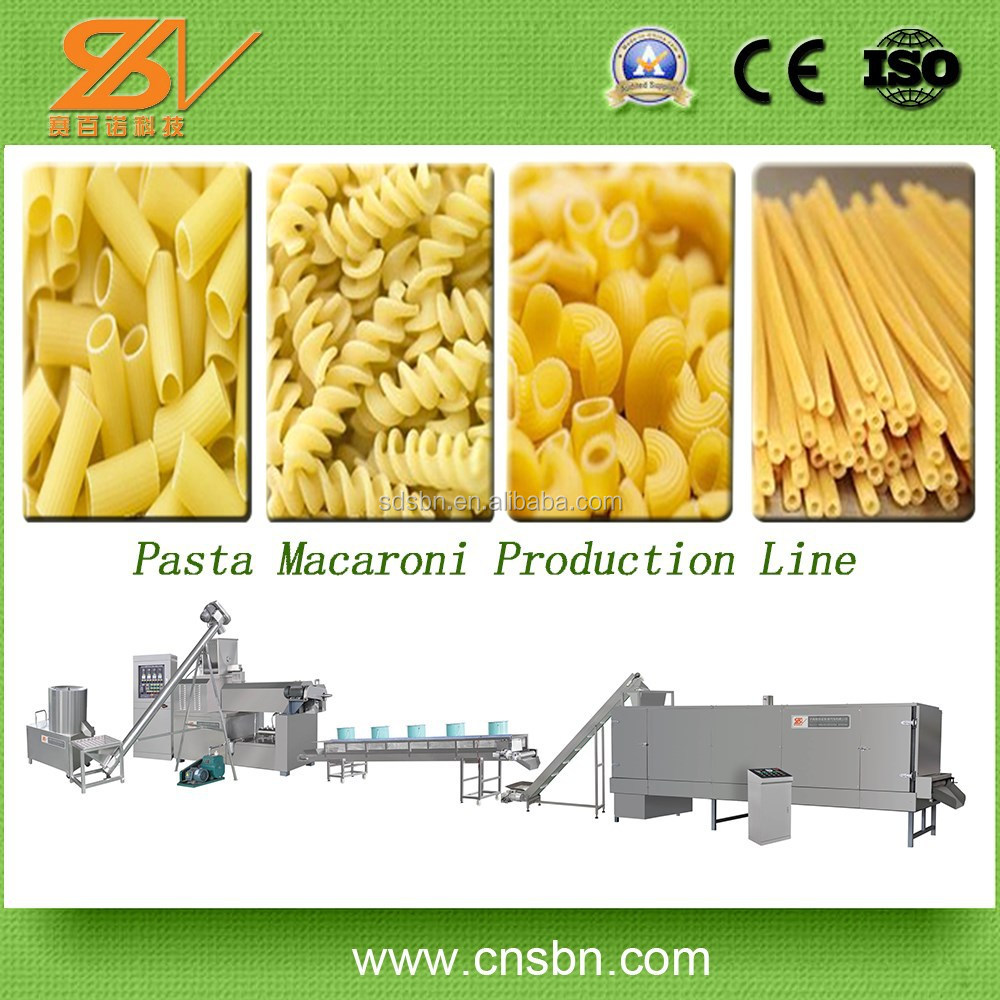 wholesale macaroni production line Spaghetti Making Equipment China Noodle Machine