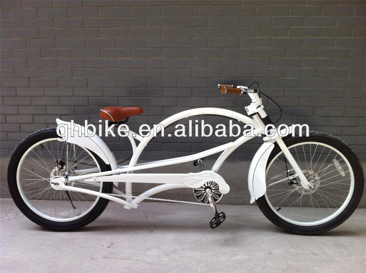 24inch white CE cruiser chopper bike/Chopper cruiser bikes