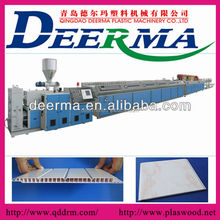 Grooved PVC Ceiling Panel Extrusion Line
