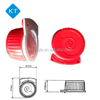 Hot sell screw cap for juice and milk Combibloc type paper cartons