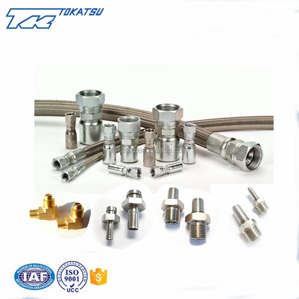JAPAN Quality Stainless Steel Long-lasting Reliable High Precision Pneumatic Pipe Fitting For Industrial Use