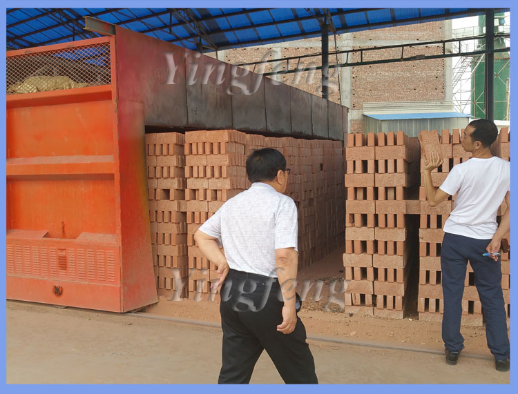 Big Small For Sale Firing Burning Burned Tunnel Oven Fire Clay Brick Oven