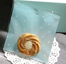 clear high quality colorful cheap cute design opp self-adhisive plastic cookies wholesale low price candy bags