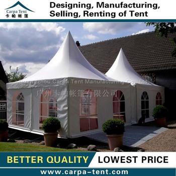 5x5m backyard pagoda tents for backyard party backyard events for sale