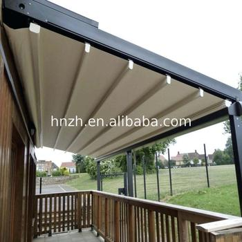 Fashion Folding Fabric Awnings roof shade roofing systems ODM