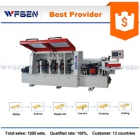 MF630B pvc full automatic used edge banding machine price