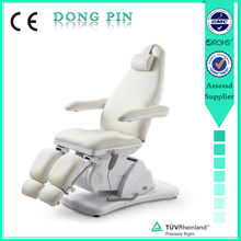 beauty salon furniture electric massage facial beds with ary;ic base