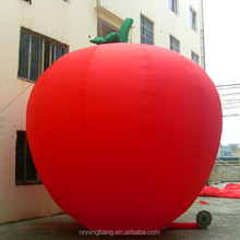 NB-AD3027 Red inflatable apple inflatable apple