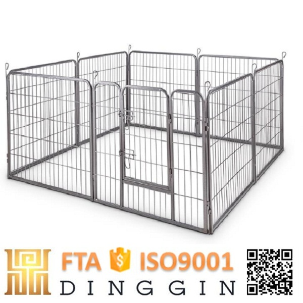 Folding tube Dog Enclosure
