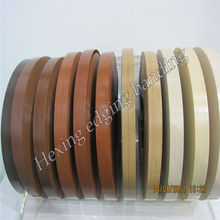 PVC laminate floor edging strip