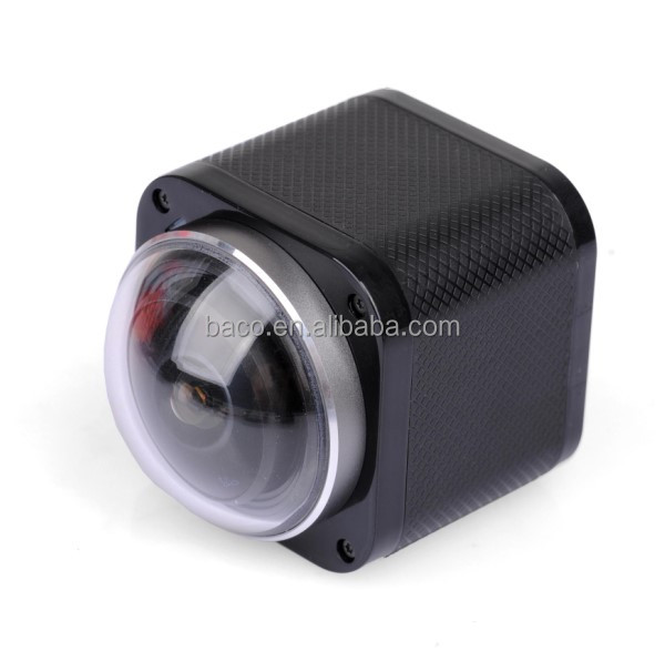 360 degree camera 4k action camera wifi with 2.4G RF Remote Control sports action camera full hd