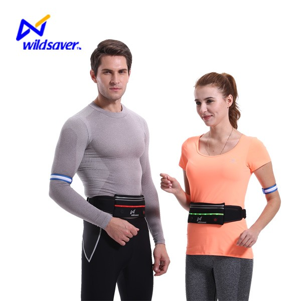 Cool sports unisex fashion outdoor sports travel fanny pack waist belt bag