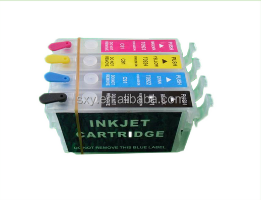 rechargeable printing ink cartridge refill empty ink cartridge for epson stylus tx117 ink cartridge