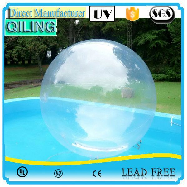 alibaba Gold Supplier Good price 0.8mm PVC crystal snow globe water ball for sale