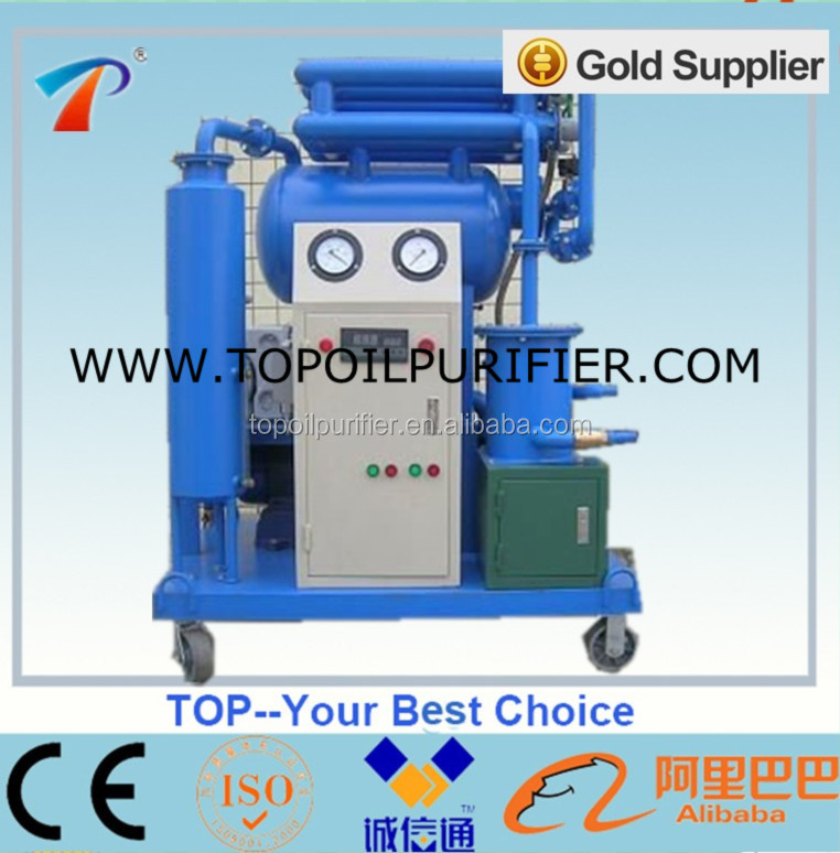 Energy Saving Insulating Oil Regeneration Unit Series ZY-20, less electricity consumption, transformer oil handling