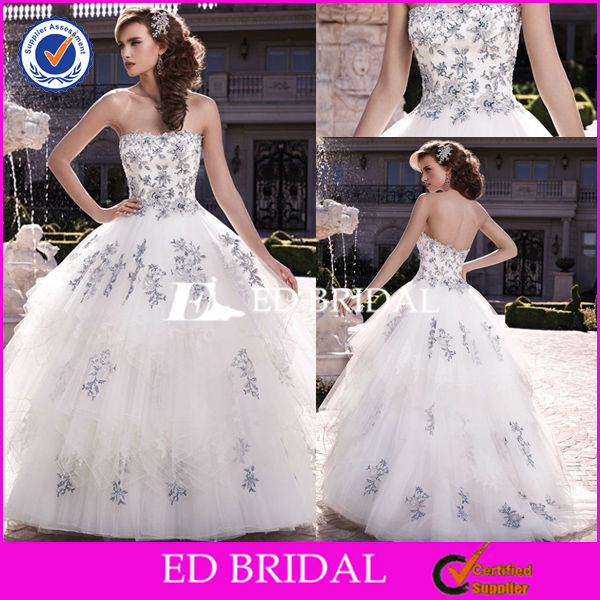 XL590 2014 new design balck lace applique puffy skirt floor length latest bridal wedding gowns pictures