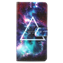 Customize Phone case Printed Leather cover flip for moto x force