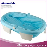 Eco-friendly folding baby bath tubs hottest plastic portable bathtub for children