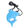 Low Price High Quality Chewable Shark Silicone Pendant Teething Wholesale