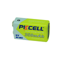 Pkcell Brand Blister Package 9V 350mah NI-MH Rechargeable Battery