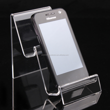 wholesale Anhui gold supplier Good selling tope grade Lucite phone display stand