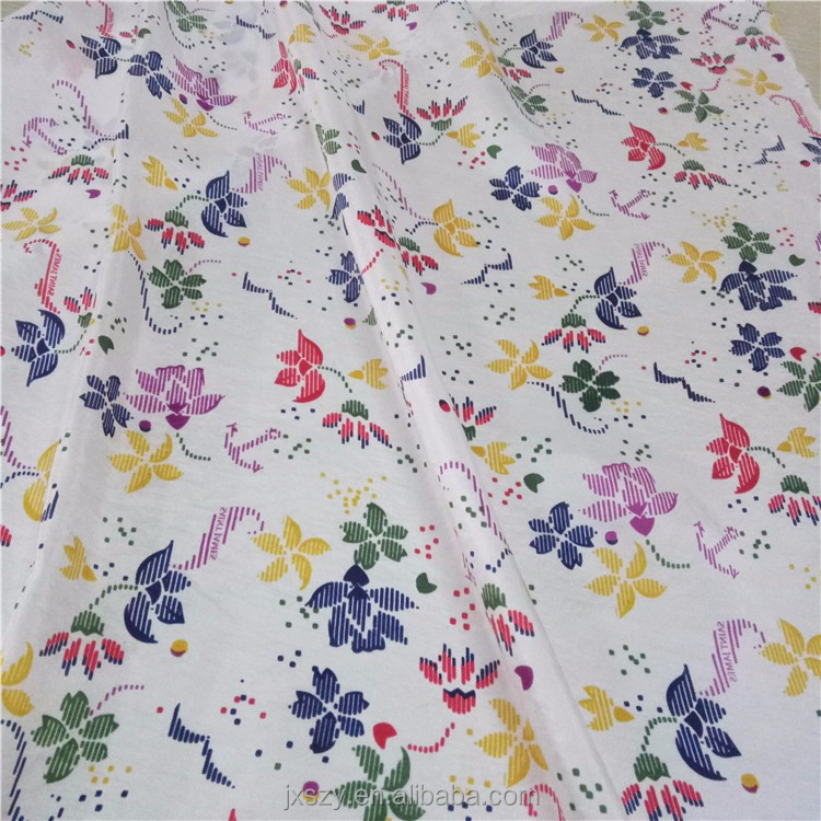 Customize Print Fabric 100% mulberry silk10mm silk habotai