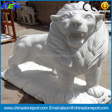High Quality Natural Stone Carving Lion Sculpture
